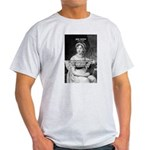 Women in History Jane Austen Ash Grey T-Shirt