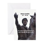 Emperor Marcus Aurelius Greeting Cards (Package of