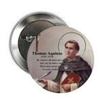 "Theology Thomas Aquinas 2.25"" Button (100 pack)"