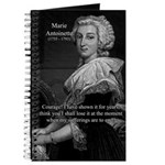 Courage Marie Antoinette Journal