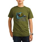 Couch Potato Jogging Organic Men's T-Shirt (dark)
