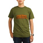 Cut the Cheese Organic Men's T-Shirt (dark)