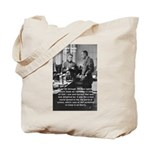 Marie Curie Physics Liberty Tote Bag