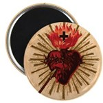 "Heart of Jesus 2.25"" Magnet (100 pack)"