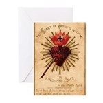 Heart of Jesus Greeting Cards (Pk of 10)