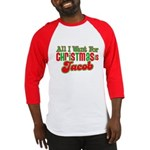 Christmas Jacob Baseball Jersey