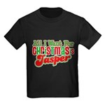 Christmas Jasper Kids Dark T-Shirt