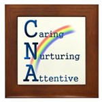 CNA Rainbow Framed Tile