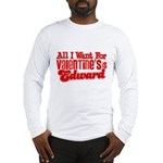 Edward Valentine Long Sleeve T-Shirt