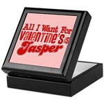 Jasper Valentine Keepsake Box