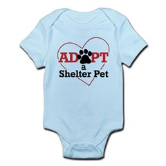 Adopt a Shelter Pet baby bodysuit