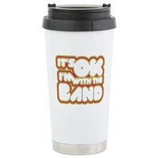 I'm With The Band Ceramic Travel Mug