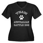 Dog Womens Plus-Size T-Shirts