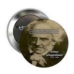 "Arthur Schopenhauer 2.25"" Button (100 pack)"