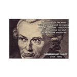 Kant Moral Law: Rectangle Magnet (10 pack)