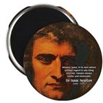 "Sir Isaac Newton Space 2.25"" Magnet (10 pack)"