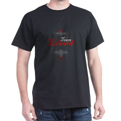 team edward t-shirt , vampire t-shirt , twilight t-shirt, black t-shirt