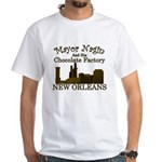 Mayor Nagin Chocolate Factory White T-Shirt