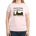 Mayor Nagin Chocolate Factory Women's Pink T-Shirt