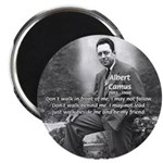 Albert Camus Philosophy Quote 2.25&quot; Magnet (10 pac