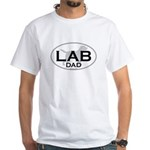 LAB DAD II White T-Shirt