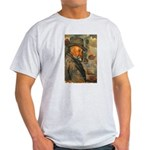 Cezanne Emotion Artistic Quote Ash Grey T-Shirt