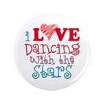 "I Love Dancing With the Stars 3.5"" Button"