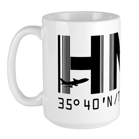 Haneda Japan airport code HND Large Mug