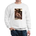 Michelangelo Perfection Quote Sweatshirt