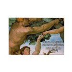 Sistine Chapel Adam & Eve Rectangle Magnet