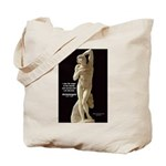 Michelangelo Angel in Sculpture Tote Bag