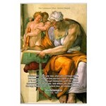Michelangelo Art Philosophy Large Poster