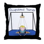 Occupational Therapy - Platfo Throw Pillow