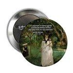"Berthe Morisot Art Quote 2.25"" Button (10 pack)"