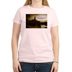 Rembrandt Painting & Quote Women's Pink T-Shirt