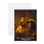 Art & Atmosphere Rembrandt Greeting Cards (Package