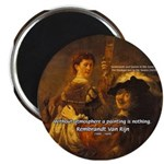 "Art & Atmosphere Rembrandt 2.25"" Magnet (100 pack)"
