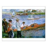 Renoir Painting: Art & Beauty Small Poster