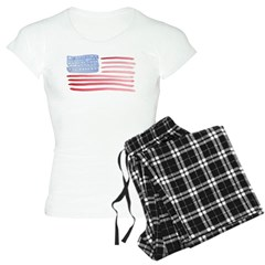 American Flag Women's Light Pajamas