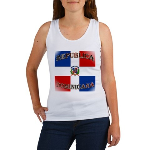 dominican republic women. Dominican Republic Women#39;s Tank Top