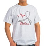 Hope Believe Diabetes Light T-Shirt
