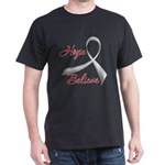 Hope Believe Diabetes Dark T-Shirt