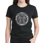 Tattoo Butterfly Diabetes Women's Dark T-Shirt