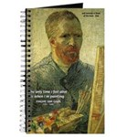 Vincent Van Gogh Quote Journal