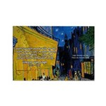 Vincent Van Gogh Color Art Rectangle Magnet