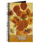 Van Gogh Painting & Quote Journal