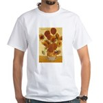 Van Gogh Painting & Quote White T-Shirt