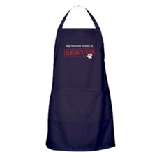 My Favorite Breed Is Rescued/Adopted apron