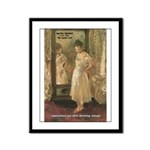 Aesop Quote Psyche Painting Framed Panel Print