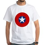 Chile - Air Force Roundel - History Clothing & Gifts - Men's White T-shirt